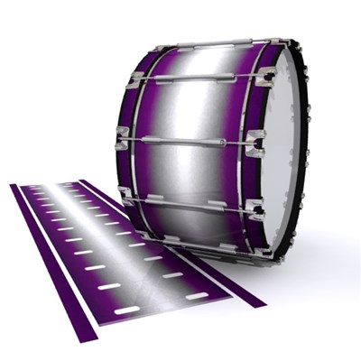 Dynasty 1st Generation Bass Drum Slip - Royal Winter (Purple)