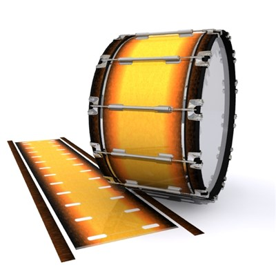 Dynasty 1st Generation Bass Drum Slip - Sahara Sun (Orange)