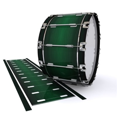 Dynasty 1st Generation Bass Drum Slip - Sea Slate Maple (Green)