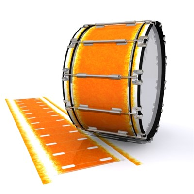 Dynasty 1st Generation Bass Drum Slip - Sunkiss (Orange)