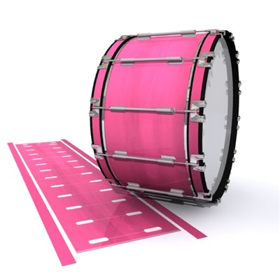 Dynasty 1st Generation Bass Drum Slip - Sunset Stain (Pink)