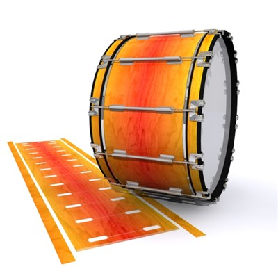 Dynasty 1st Generation Bass Drum Slip - Sunshine Stain (Orange) (Yellow)
