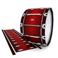 Dynasty Custom Elite Bass Drum Slip - Apple Maple Fade (Red)
