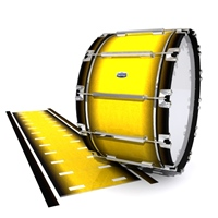 Dynasty Custom Elite Bass Drum Slip - Aureolin Fade (Yellow)