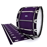 Dynasty Custom Elite Bass Drum Slip - Black Cherry (Purple)