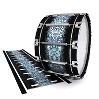 Dynasty Custom Elite Bass Drum Slip - Blue Ridge Graphite (Neutral)