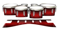 Dynasty 1st Generation Tenor Drum Slips - Active Red (Red)