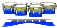 Dynasty Custom Elite Tenor Drum Slips - Afternoon Fade (Blue)