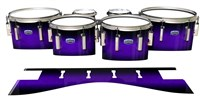 Dynasty Custom Elite Tenor Drum Slips - Amethyst Haze (Purple)