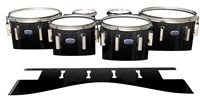 Dynasty Custom Elite Tenor Drum Slips - Asphalt (Neutral)