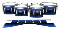 Dynasty Custom Elite Tenor Drum Slips - Azzurro (Blue)