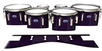 Dynasty Custom Elite Tenor Drum Slips - Black Cherry (Purple)