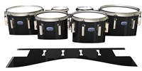 Dynasty Custom Elite Tenor Drum Slips - Black Stain (Neutral)