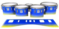 Ludwig Ultimate Series Tenor Drum Slips - Afternoon Fade (Blue)