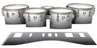 Ludwig Ultimate Series Tenor Drum Slips - Arctic Night Fade (Neutral)
