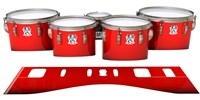 Ludwig Ultimate Series Tenor Drum Slips - Cherry Pickin' Red (Red)