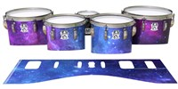 Ludwig Ultimate Series Tenor Drum Slips - Colorful Galaxy (Themed)