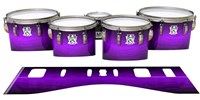 Ludwig Ultimate Series Tenor Drum Slips - Distant Galaxy Fade (Purple)