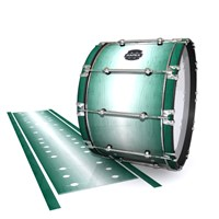 Mapex Quantum Bass Drum Slip - Alpine Fade (Green)