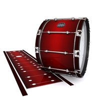 Mapex Quantum Bass Drum Slip - Apple Maple Fade (Red)