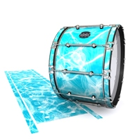 Mapex Quantum Bass Drum Slip - Aquatic Refraction (Themed)