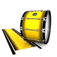 Mapex Quantum Bass Drum Slip - Aureolin Fade (Yellow)