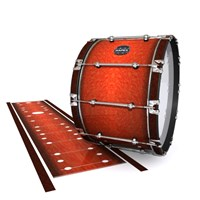 Mapex Quantum Bass Drum Slip - Autumn Fade (Orange)