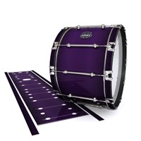 Mapex Quantum Bass Drum Slip - Black Cherry (Purple)