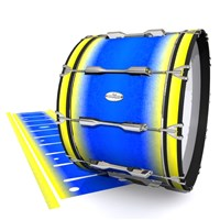 Pearl Championship Maple Bass Drum Slip - Afternoon Fade (Blue)