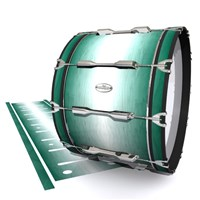 Pearl Championship Maple Bass Drum Slip - Alpine Fade (Green)