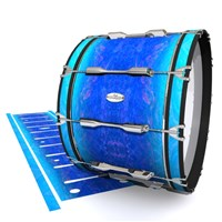 Pearl Championship Maple Bass Drum Slip - Aquatic Blue Fade (Blue)