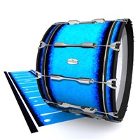 Pearl Championship Maple Bass Drum Slip - Bermuda Blue (Blue)