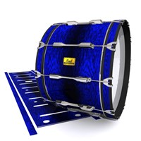 Pearl Championship Maple Bass Drum Slip (Old) - Andromeda Blue Rosewood (Blue)
