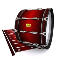 Pearl Championship Maple Bass Drum Slip (Old) - Apple Maple Fade (Red)
