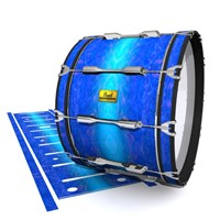 Pearl Championship Maple Bass Drum Slip (Old) - Aquatic Blue Fade (Blue)