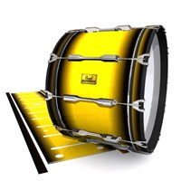 Pearl Championship Maple Bass Drum Slip (Old) - Aureolin Fade (Yellow)