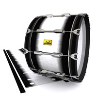 Pearl Championship Maple Bass Drum Slip (Old) - Black Magic Fade (Neutral)