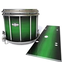 Pearl Championship CarbonCore Snare Drum Slip - Asparagus Stain Fade (Green)