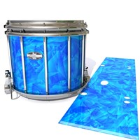 Pearl Championship CarbonCore Snare Drum Slip - Blue Cosmic Glass (Blue)
