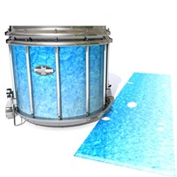 Pearl Championship CarbonCore Snare Drum Slip - Blue Ice (Blue)