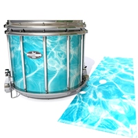 Pearl Championship CarbonCore Snare Drum Slip - Aquatic Refraction (Themed)