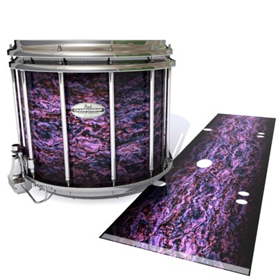 Pearl Championship Maple Snare Drum Slip - Alien Purple Grain (Purple)