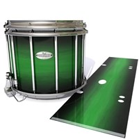 Pearl Championship Maple Snare Drum Slip - Asparagus Stain Fade (Green)