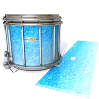 Pearl Championship Maple Snare Drum Slip - Blue Ice (Blue)