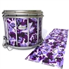 Pearl Championship Maple Snare Drum Slip - Coastline Dusk Traditional Camouflage (Purple)