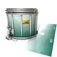 Pearl Championship Maple Snare Drum Slip (Old) - Alpine Fade (Green)