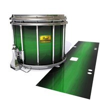 Pearl Championship Maple Snare Drum Slip (Old) - Asparagus Stain Fade (Green)