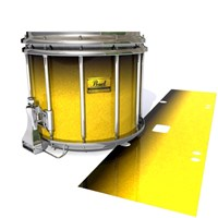Pearl Championship Maple Snare Drum Slip (Old) - Aureolin Fade (Yellow)