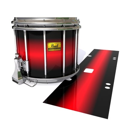 Pearl Championship Maple Snare Drum Slip (Old) - Red Line Red (Red)