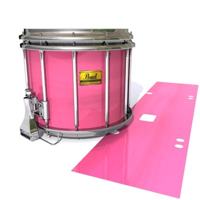 Pearl Championship Maple Snare Drum Slip (Old) - Sunset Stain (Pink)